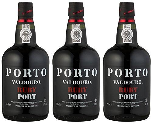 Valdouro Portwein Ruby Porto (3 x 0.75 l)