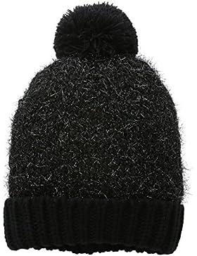 Mount Hood Plymouth, Gorro de punto Mujer, Negro (schwarz-grau), Talla única
