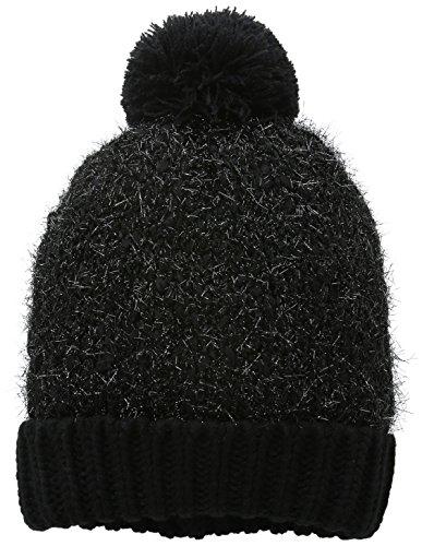 mount-hood-plymouth-gorro-de-punto-mujer-negro-schwarz-grau-talla-unica