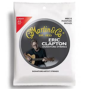 Martin Clapton's Choice  Acoustic Guitar Strings - Phosphor Wound (Light, .012 - .054)