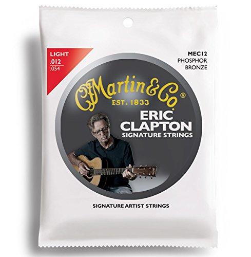 Martin MEC12 - Juego de cuerdas para guitarra acústica de fósforo, .012 -