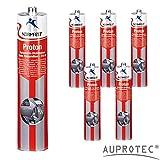 Auprotec® Normfest Karosseriedichtmasse Proton 310ml 1K Kleber überlackierbar schwarz, 6 Kartuschen