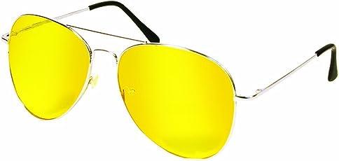 Night View Aviator Unisex Sunglasses by Shopping Tadka
