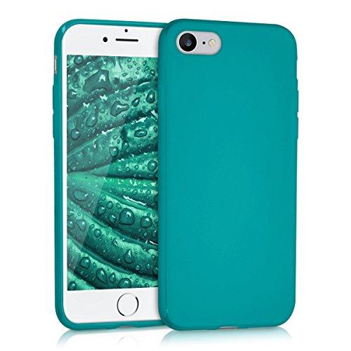 kwmobile Apple iPhone 7/8 Hülle - Handyhülle für Apple iPhone 7/8 - Handy Case in Petrol matt