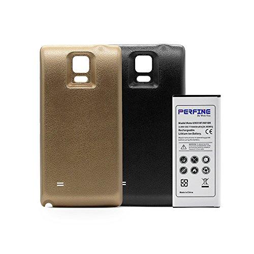 Perfine Galaxy Note4 6440mAh Batería Extendida
