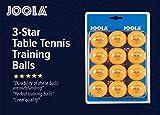 Joola Training Table Tennis Balls (Pack of 12) - Orange