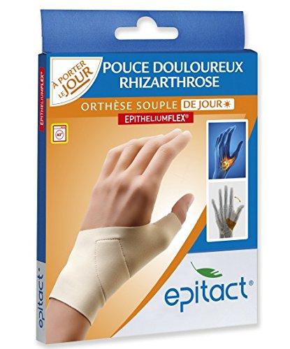 Millet Innovation - Epitact - Orthèse Pouce Rhizarthrose Souple - Taille M - Gauche