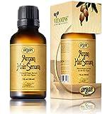 Vitamins Haar Serum mit marokkanischem Arganöl - Hochwertige Behandlung zum Nähren & Schutz strapazierten Haares. Fördert Glanz und Shine