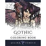 Gothic - Dark Fantasy Coloring Book (Fantasy Art Coloring by Selina)