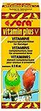 sera 9840 vitamin plus V 15 ml / Multivitamintropfen, eine schmackhafte Emulsion aus 12 wertvollen Vitaminen, zur zusätzlichen Vitaminversorgung von Ziervögel