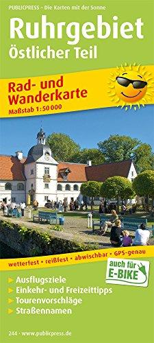 Dortmund und Umgebung: Rad- und Wanderkarte mit Straßennamen, Ausflugszielen, Einkehr- & Freizeittipps, wetterfest, reissfest, abwischbar, GPS-genau. 1:50000 (Rad- und Wanderkarte / RuWK)