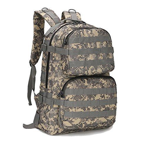 CHT Herren Outdoor Wandern Bergsteigen Tasche Wasserdichte Tasche Sporttasche Mit Großer Kapazität 50 * 34 * 18cm Farbe Optional ACUDigital