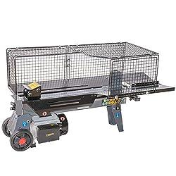 STAHLMANN® Holzspalter 7 Tonnen / 520mm liegend, mit stufenlos verstellbaren Spaltweg bis max. 520 mm - CE zertifiziert!