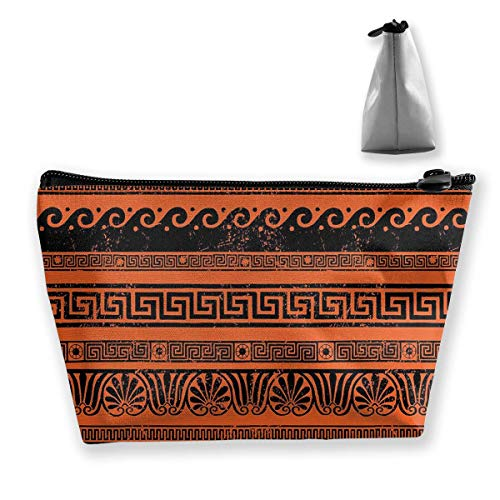 Classical Border Ornaments Cosmetic Makeup Bag/Pouch/Clutch Travel Case Organizer Storage Bag for Women¡¯s Accessories Toiletry Beauty,Skincare Travel Accessory -