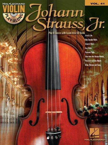 Violin Play-Along: Johann Strauss. For Violino