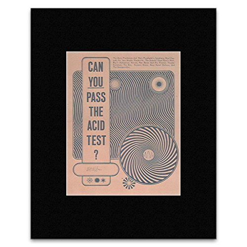 Die Greatful Dead Filmen Neal CASSADY-Können Sie die Säure Test San Francisco Rock 1966Mini Poster-25.4x 20.3cm -