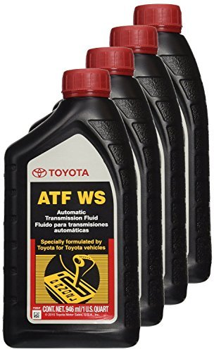 genuine-toyota-lexus-automatic-transmission-fluid-1qt-ws-atf-world-standard-4-pack-by-toyota