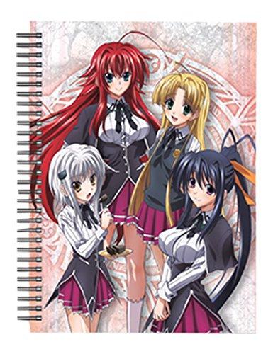 Great Eastern Entertainment High School Dxd Mädchen Spirale Notebook (Entertainment Laptop)