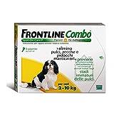 ANTIPARASSITARIO FRONTLINE COMBO 3 DOSI CANI PICCOLI 2-10 KG SPOT ON ANTIPULCI