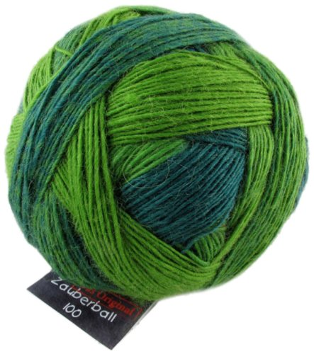 Schoppel-Wolle Zauberball 100 2168_ Evergreen VE: 100g -