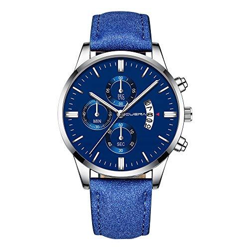f1aafb637b40 DAYLIN Relojes Esfera Grande Hombre de Lujo Negocios Reloj Militar Deportivo  Reloj Automatico de Pulsera de
