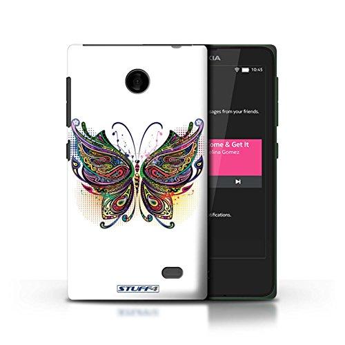 Kobalt® Imprimé Etui / Coque pour Nokia X / Chouette conception / Série Animaux décoratifs Papillon