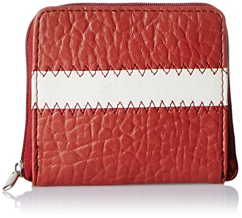 Peperone Women's Wallet (Rust and White)  available at amazon for Rs.350