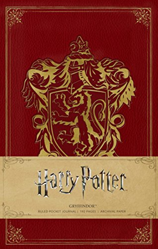HARRY POTTER: GRYFFINDOR HARDCOVER RULED NOTEBOOK (Insights Journals) Edition Laptop