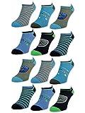 6 oder 12 Paar Kinder Sneaker Socken Jungen & Mädchen