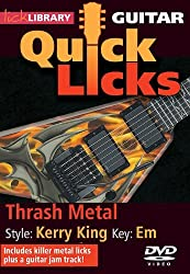 Quick Licks - Kerry King For Guitar by Andy James