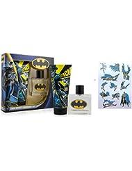 DC Comics Mens Batman Dark Knight Fragrance Set Eau de Toilette 50ml + Shower Gel 150ml