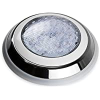 LED piscina luz bajo el agua Spa 45W IP68RGB 7colores montaje en superficie plana bajo voltaje 12V AC con mando a distancia Tunez