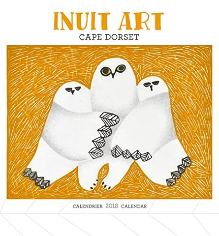 Inuit Art/Cape Dorset Mini 2018 Calendar
