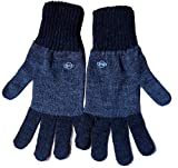 #10: Gajraj Unisex Woollen Winter Gloves (GHF1_Dark Grey and Medium Grey)