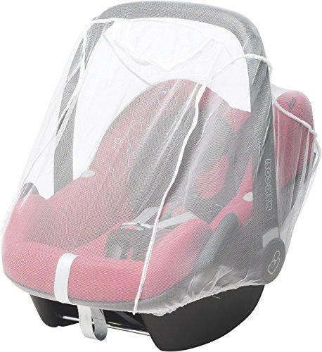 Playshoes 601002-1 Mückennetz für die Babyschale, Baby - Trage, weiß
