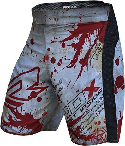RDX MMA Shorts Boxen Kampfsport Trainingshorts Freefight Kurze Sporthose Fightshorts UFC Kickboxen Abbildung 2