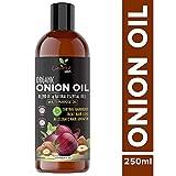 Luxura Sciences - Aceite de cebolla para cabello, 250 ml, con 14 aceites esenciales, 100% puro y natural