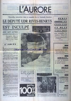 AURORE (L') [No 8361] du 20/07/1971