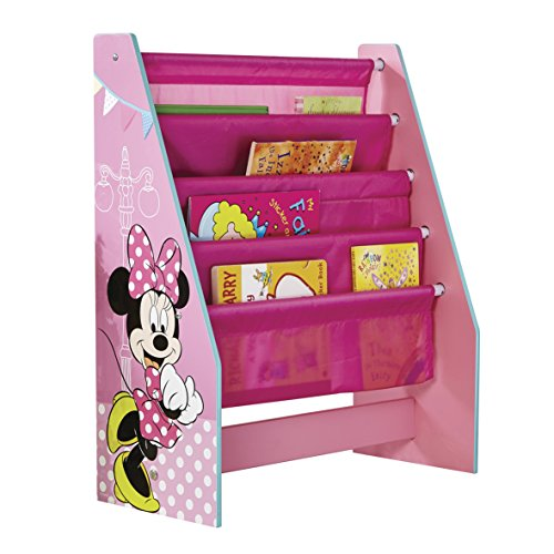 Worlds Apart 470INN Minnie Mouse Büchergestell, 51 x 23 x 60 cm (Bücherregal Spielzimmer)