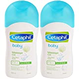 Cetaphil Baby Massage Oil (200ml) - Pack of 2