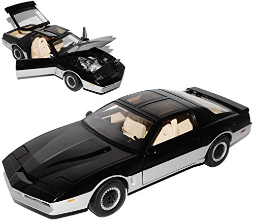kitt-knight-rider-schwarz-coupe-pontiac-trans-am-mit-funktionierendem-led-licht-1-18-mattel-hot-whee
