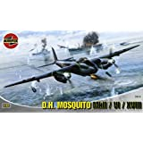 Airfix A03019 De Havilland Mosquito FBVI/ NF II/Mk XVIII 1:72 Scale Series 3 Plastic Model Kit