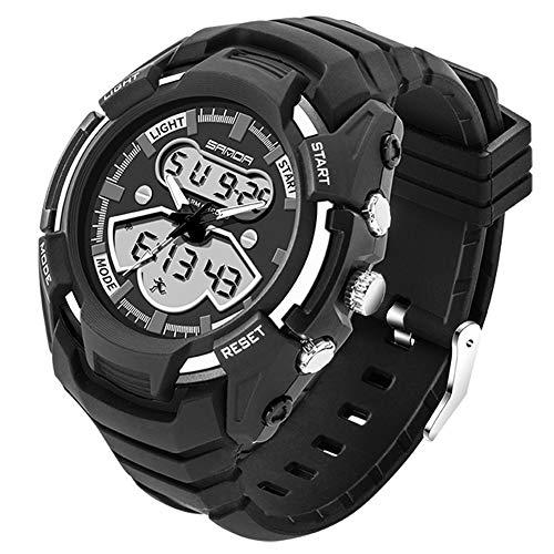 Preisvergleich Produktbild GMultifunktions Wasserdicht Outdoor Sport Uhren / LED Licht / Weckerfunktion / Tough Stoßfest Armbanduhr (Black)