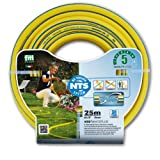 Layflat FWP1/2255-Ply Professional Garden Hose 1/2Inch NTS 25m Bend and Anti-Torsion Fitt Water