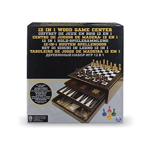 12in1–Holz-Spielesammlung