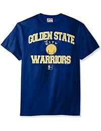 """Golden State Warriors Majestic NBA """"Heart & Soul"""" Men's Blue T-Shirt"""