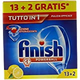 Finish tout en 1 citron pZ.13  + 2 – [Lot de 4]