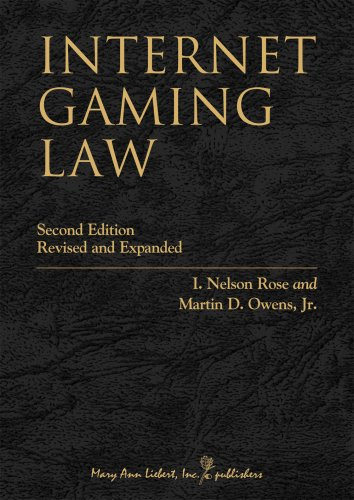 Internet Gaming Law: Gambling and the Law (Internet Gaming Law)