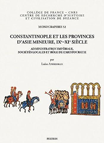 Constantinople Et Les Provinces D