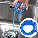 Gemini _ Mall® Ablauf Reinigung Werkzeug, Ablauf Haar Verstopfen Entferner Catcher Ablauf Verstopfen Schlange Reinigung Werkzeug, 43,2cm